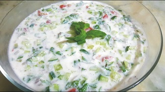 salad raita